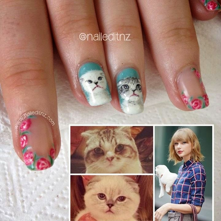 Carwen Came Up With The Idea Of Using Taylor S Cats As Inspiration And I Thought It Was Genius You Can See We Also Added Some Roses Crawling