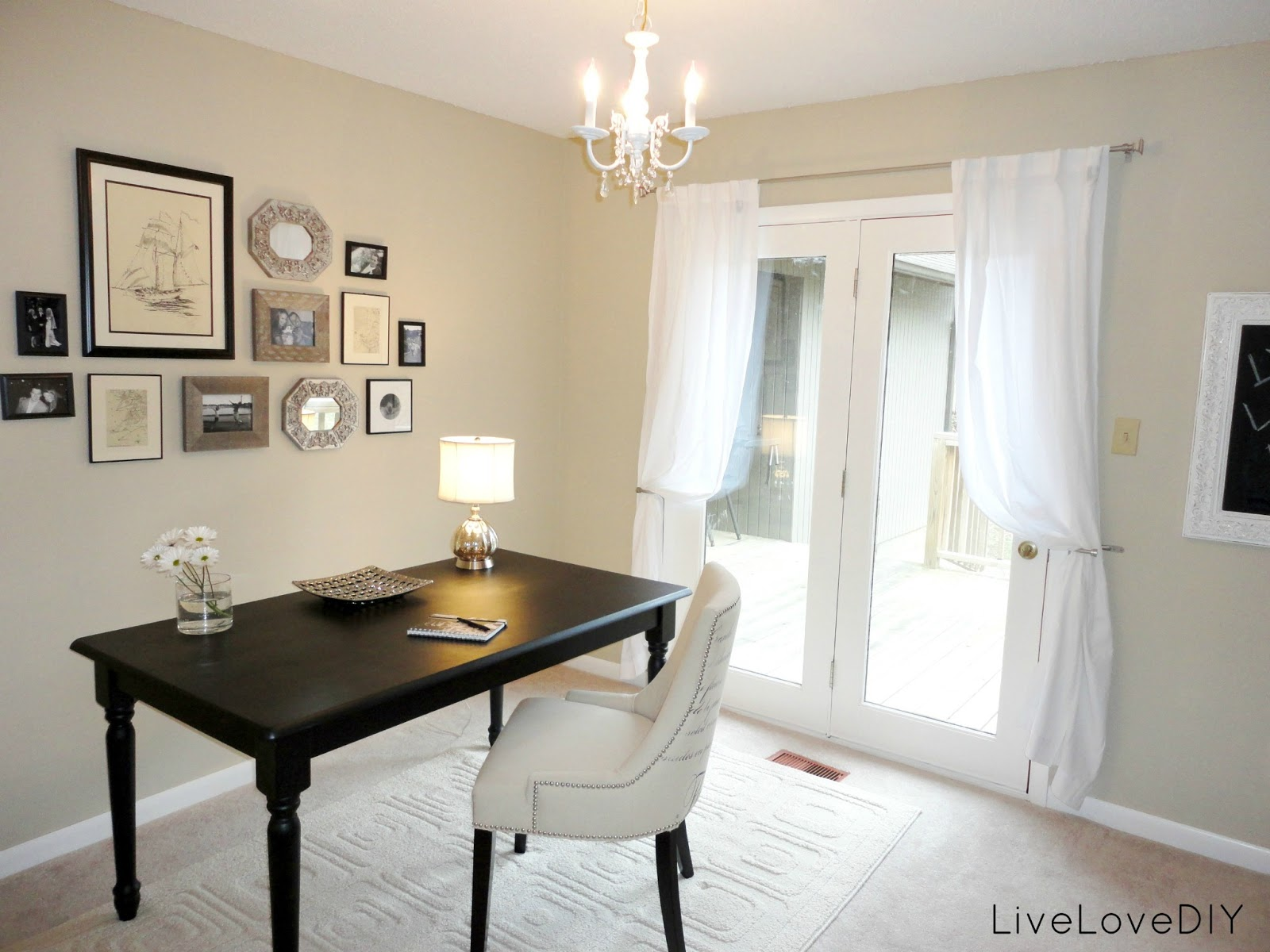 LiveLoveDIY: The $300 Office Makeover!