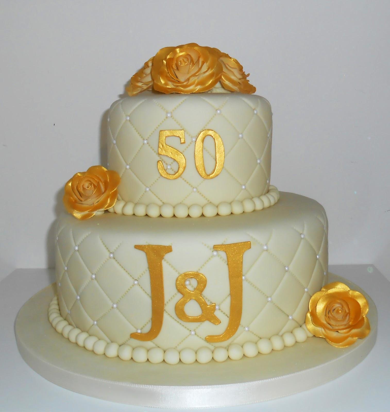 Jenny S Wedding Cakes: The Coloured Bubble Cakery: Jenny & John's 50th Wedding