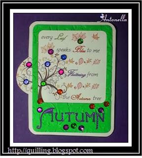 Every Autumn Leaf Card
