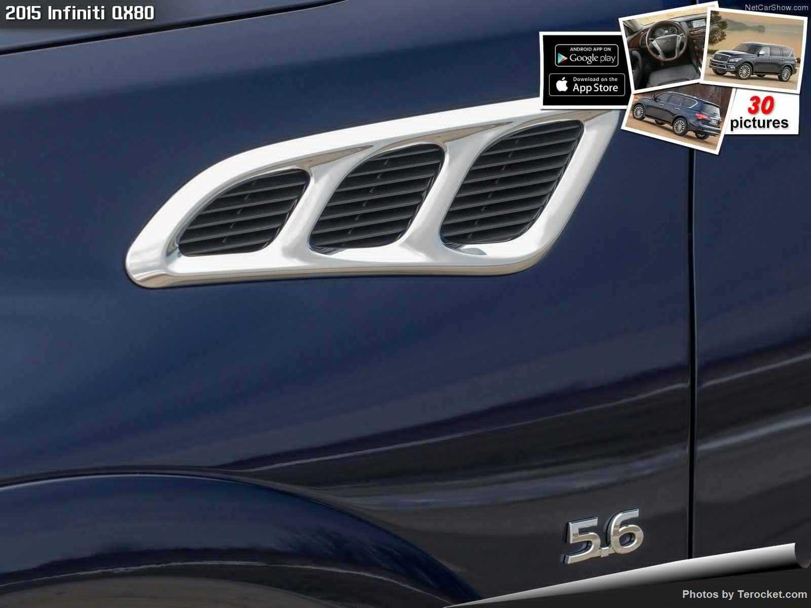 Hình ảnh xe ô tô Infiniti QX80 2015 & nội ngoại thất