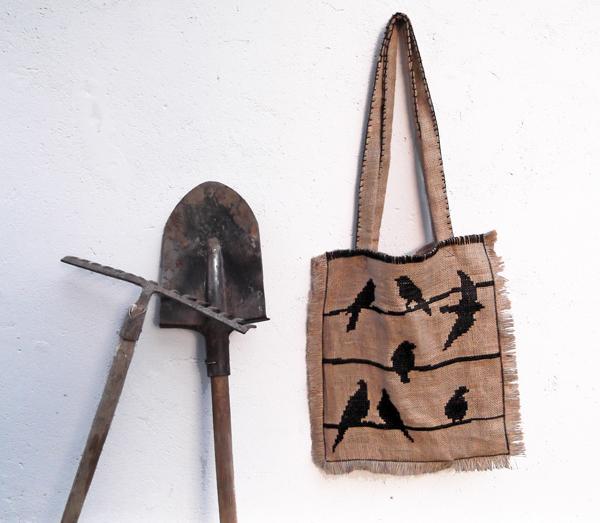 boho chic bag, sack fabric, bag, boho bag, boho chic fashion, bohemian style bag, bohemian style, fashion, burlap bag, burlap fabric fashion, hessian bag,