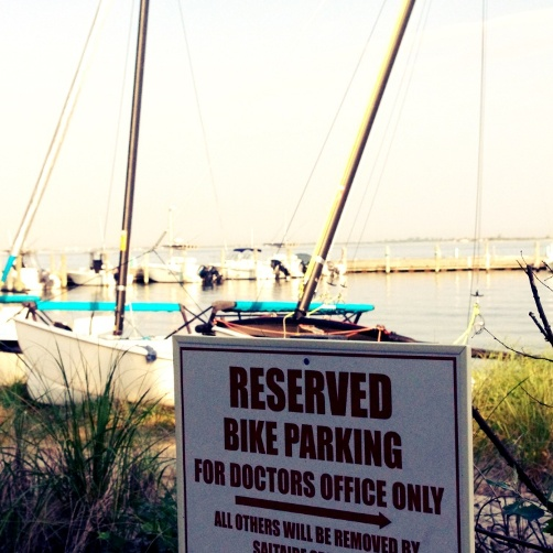 Dr parking Fire Island