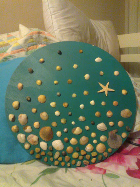 Decoracion con conchas aprender manualidades es - Decoracion con conchas ...