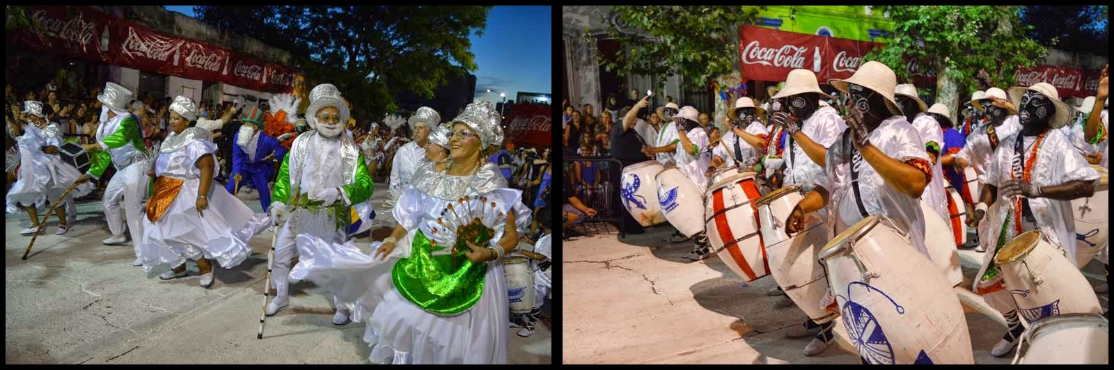 Carnaval. Desfile de Llamadas. Cuareim Diezochenta.