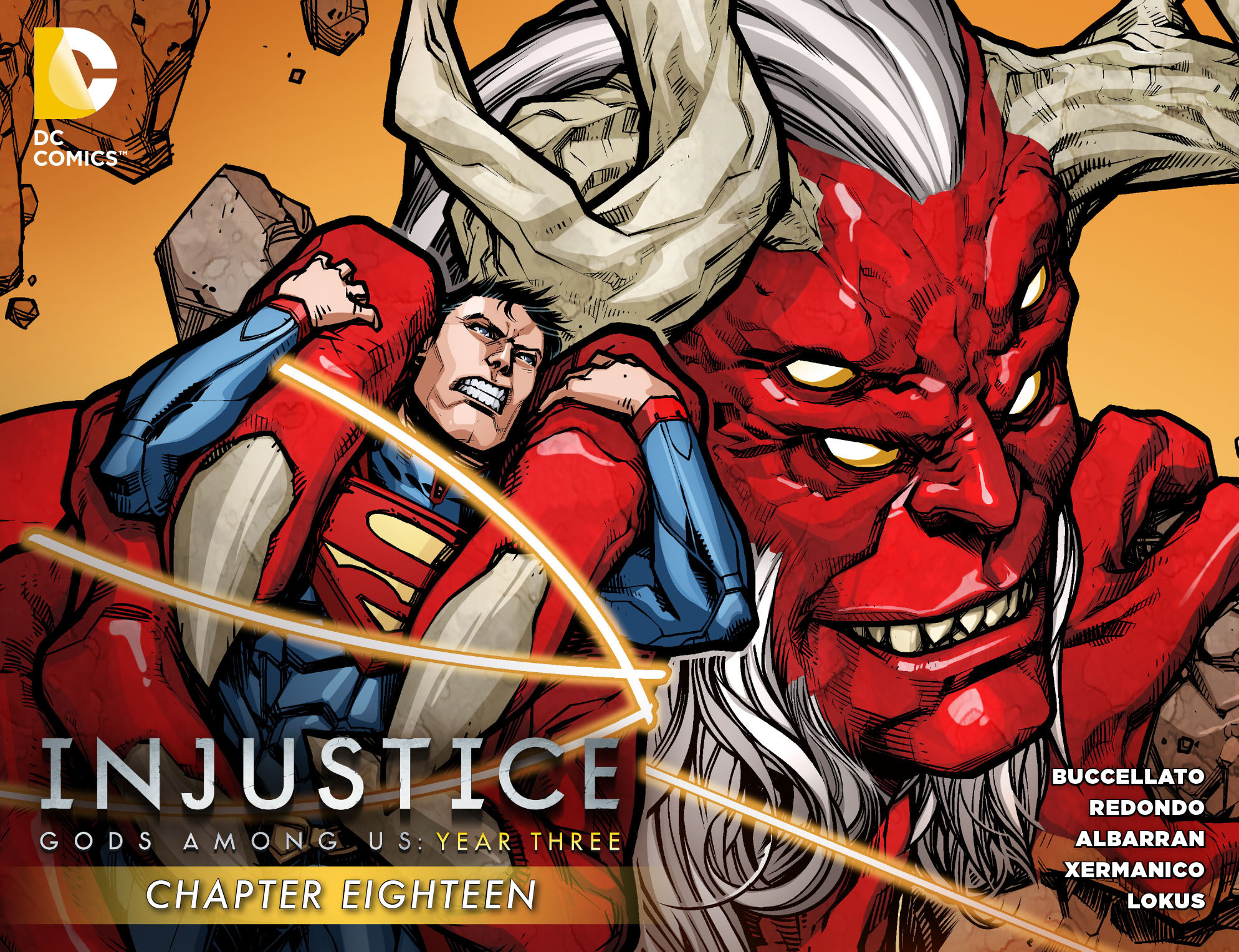 Injustice: Gods Among Us Year Three 18 Page 1