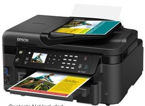 Error Service Printer E-01 Epson