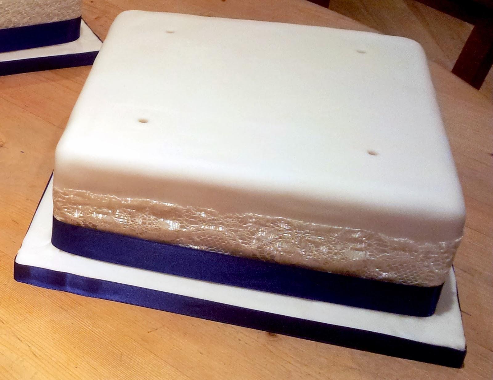 Plain Iced Madeira Cake