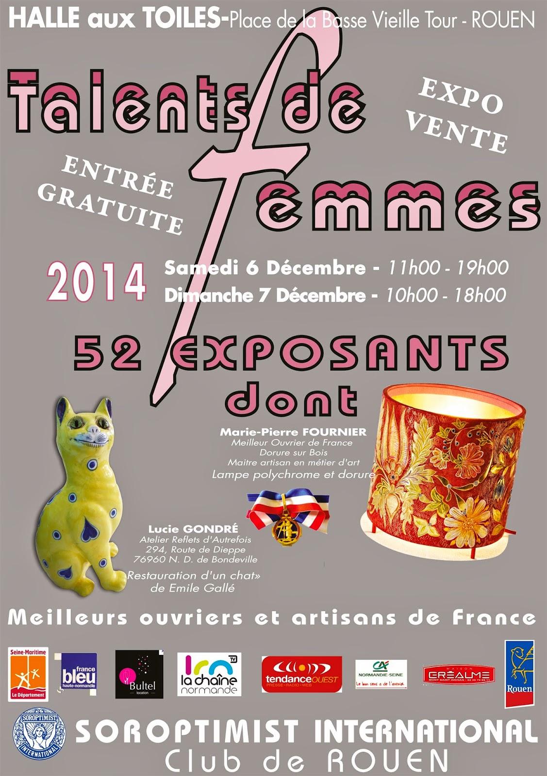 Marie Tournicote Exposition Talents de femmes