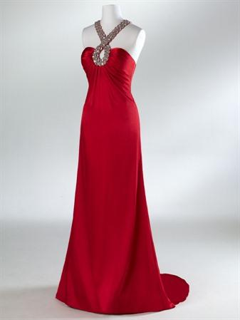 Long Prom Dress on Valentine Red Long Prom Dress