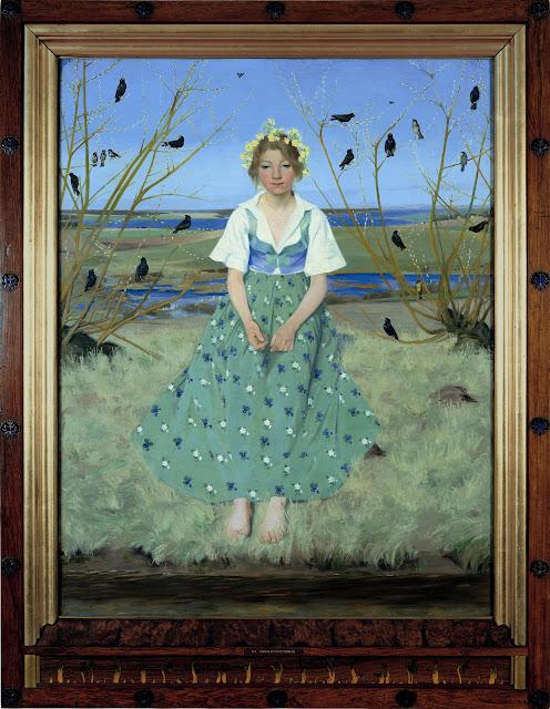'Foråret' af Harald Slott-Møller (1896)