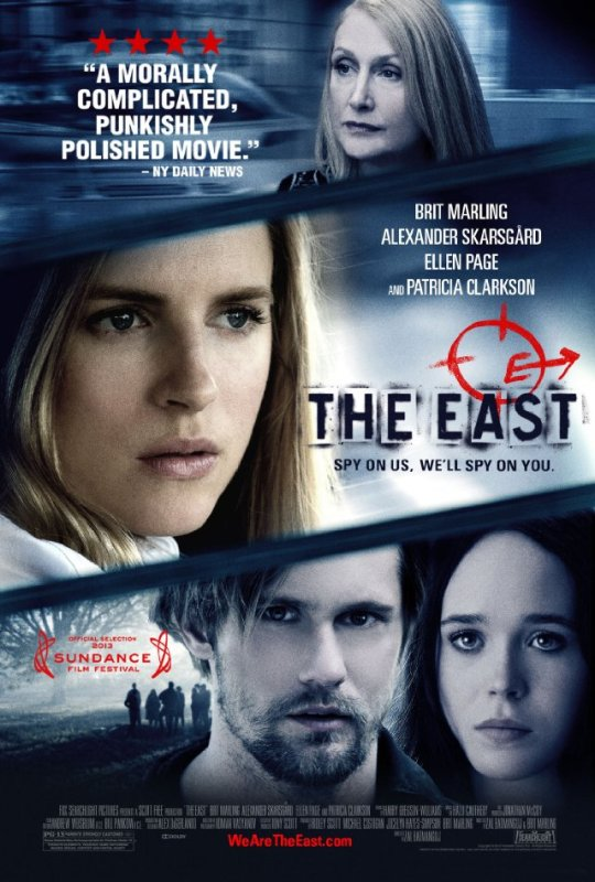 Capa The East – HDRip capa