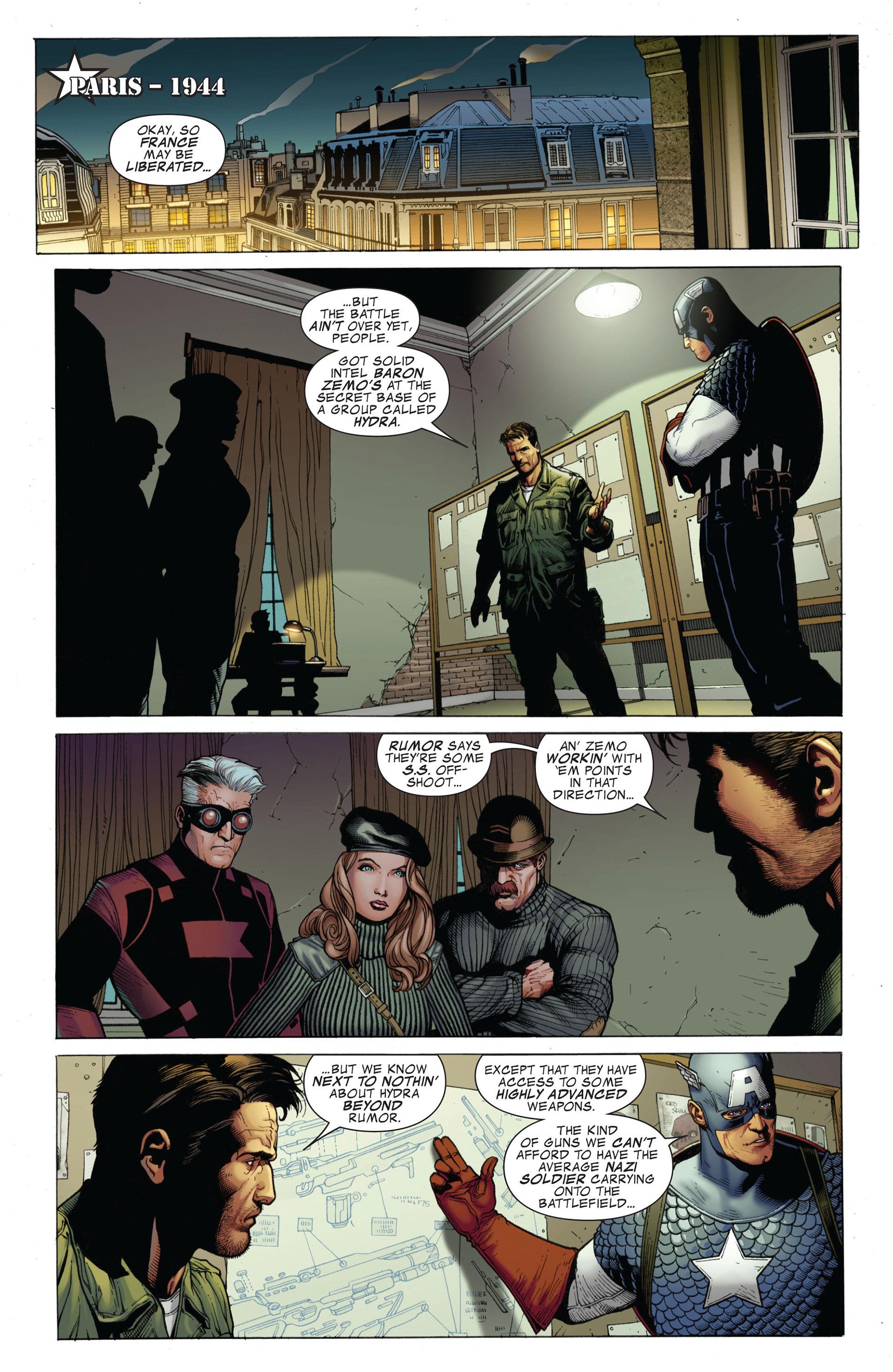 Captain America (2011) Issue #1 #1 - English 13