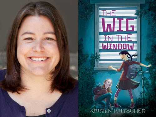 Kristen Kittscher, author of The Wig in the Window