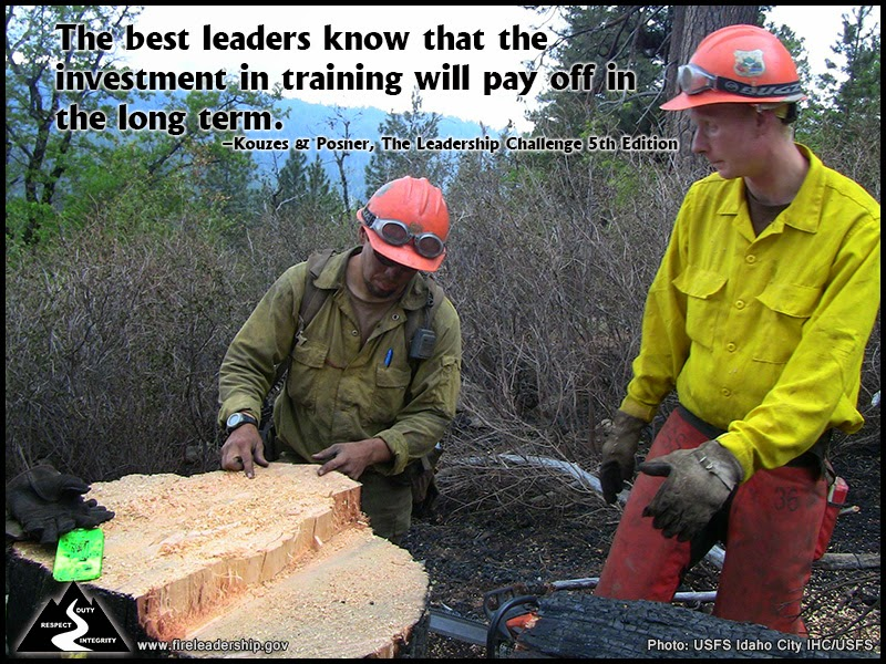 The best leaders know that the investment in training will pay off in the long term. – Kouzes & Posner, The Leadership Challenge 5th Edition