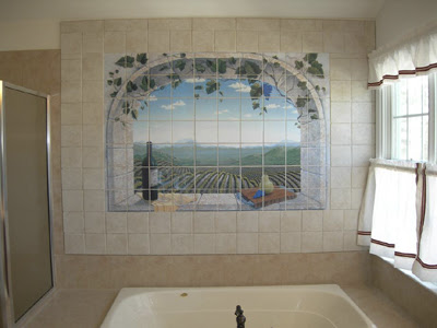 Art wall decor bathroom wall murals bathroom wall art for Bathroom wall mural
