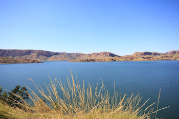 75 klm of lake Argyle