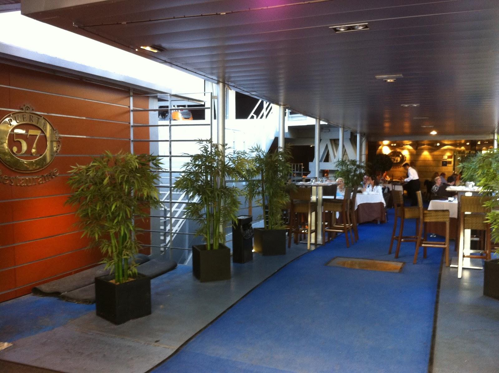 Comiendo se entiende la gente gastronutrici n puerta 57 for Puerta 57 restaurante