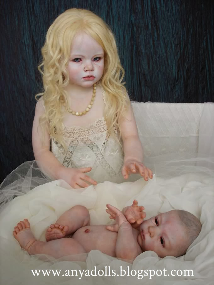 Life size children dolls