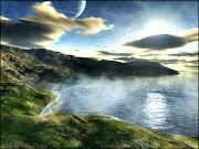 Paisajes 3D paisaje bonito