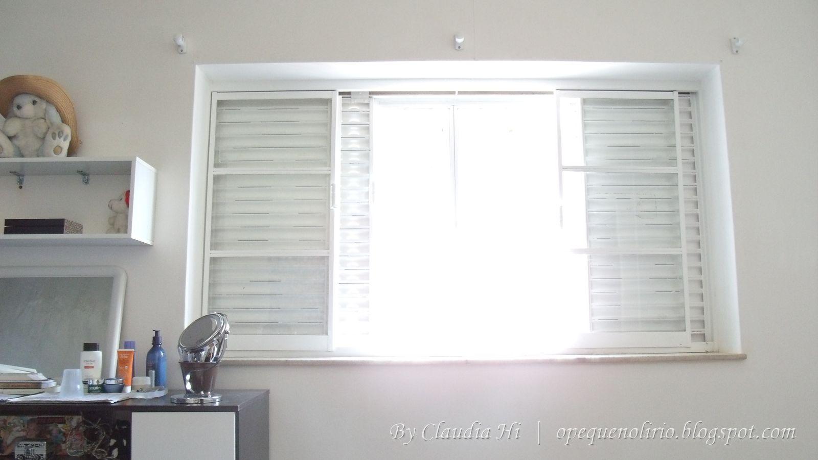 #7B604B  passo diy room curtain cortina de quarto branco janela window 40 Janelas De Vidro Cortina