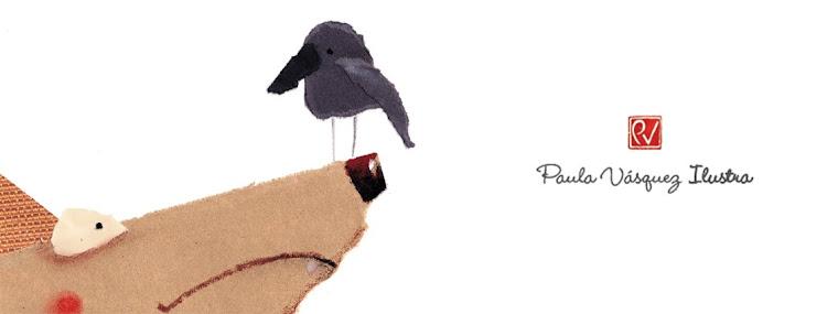 Paula Vásquez ilustra