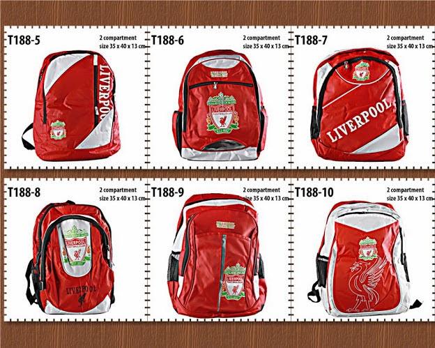 tas ransel, tas backpack, klub bola, fc, liverpool tas backpack fc, liverpool, anna gallery di tangerang