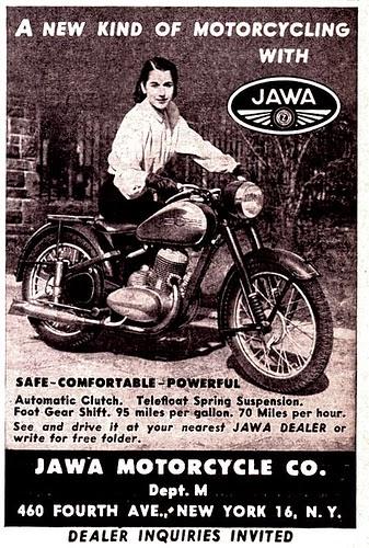 Reklama dilera Jawy z N.Y. (USA)