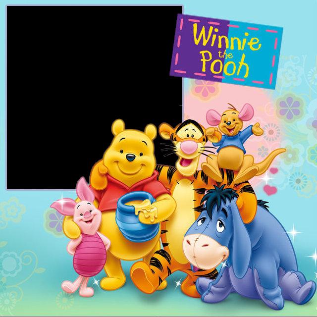 Marco de fotos de Winnie Pooh - Imagui