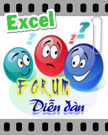 * Forum Excel :