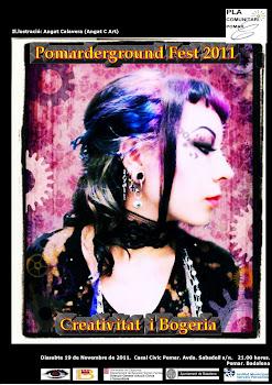 POMARDERGROUND FEST 2011. 19 de noviembre. 21.00 H. BADALONA DF.
