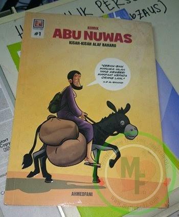 Komik Abu Nuwas: Pembelajaran Untuk Anak-anak