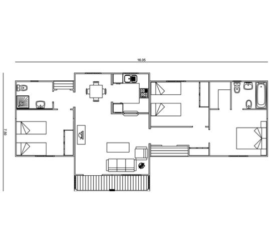 Dise os de casas planos gratis construcci n simple for Planos de construccion de casas gratis