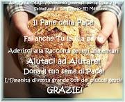 """Aderisci al  """"PANE della PACE"""""""