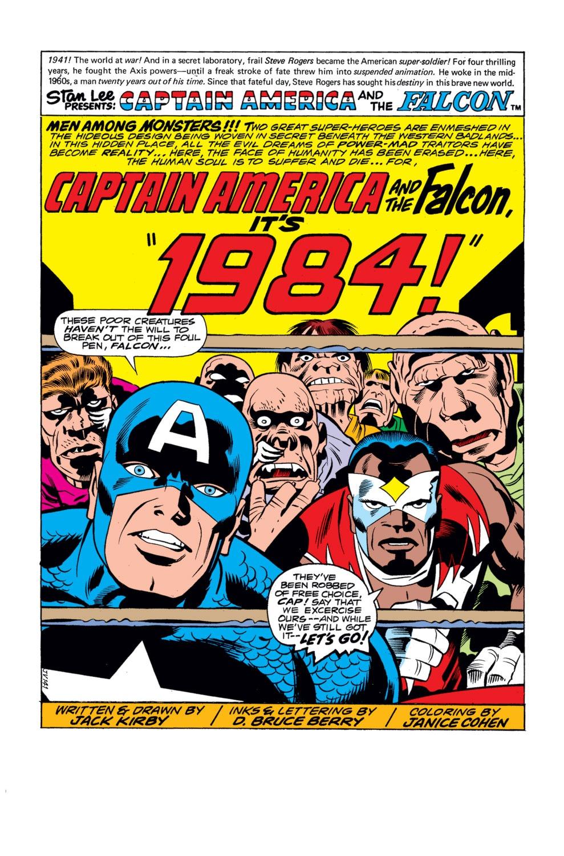 Captain America (1968) Issue #195 #109 - English 2