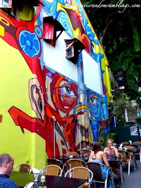 street mural at Blue Jaz Haji Lane