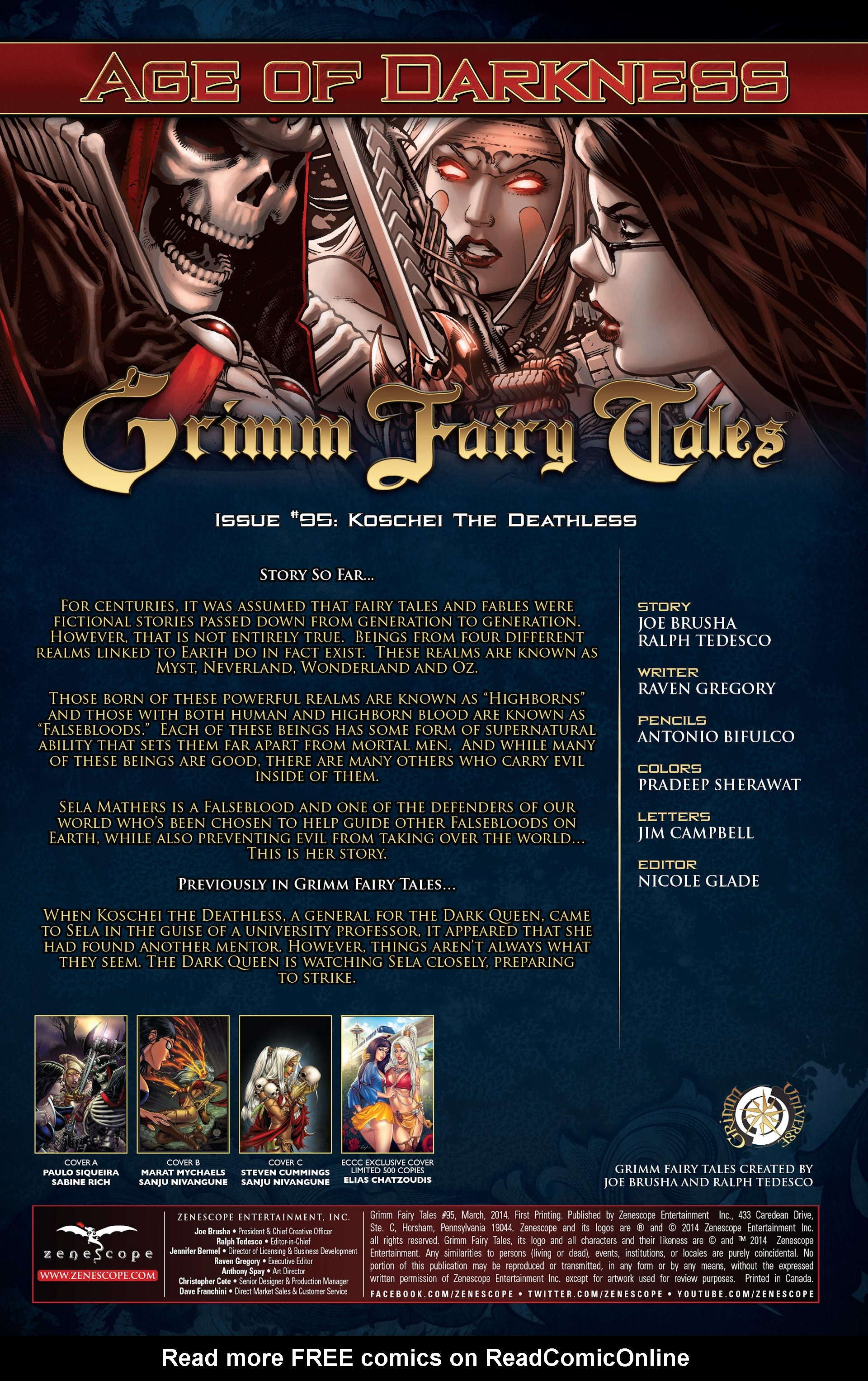 Grimm Fairy Tales (2005) Issue #95 #98 - English 2