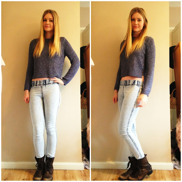 fashion, outfit, look, jeggings, 90s, acid wash