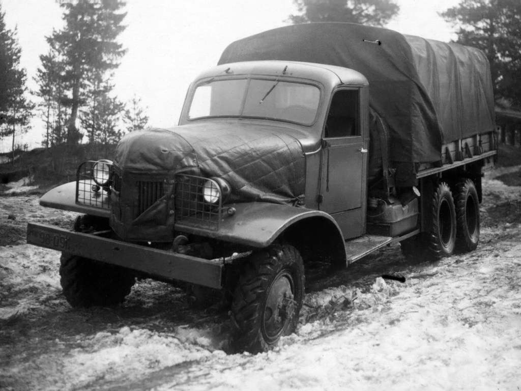Автолегенды СССР Грузовики №19 - ЯАЗ-200