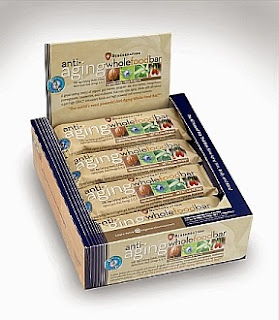 Anti-Aging Whole Food Bar - Alkaline Forming - Raw - Organic - Sprouted - Kosher - Gluten Free - Non-GMO - Vegetarian