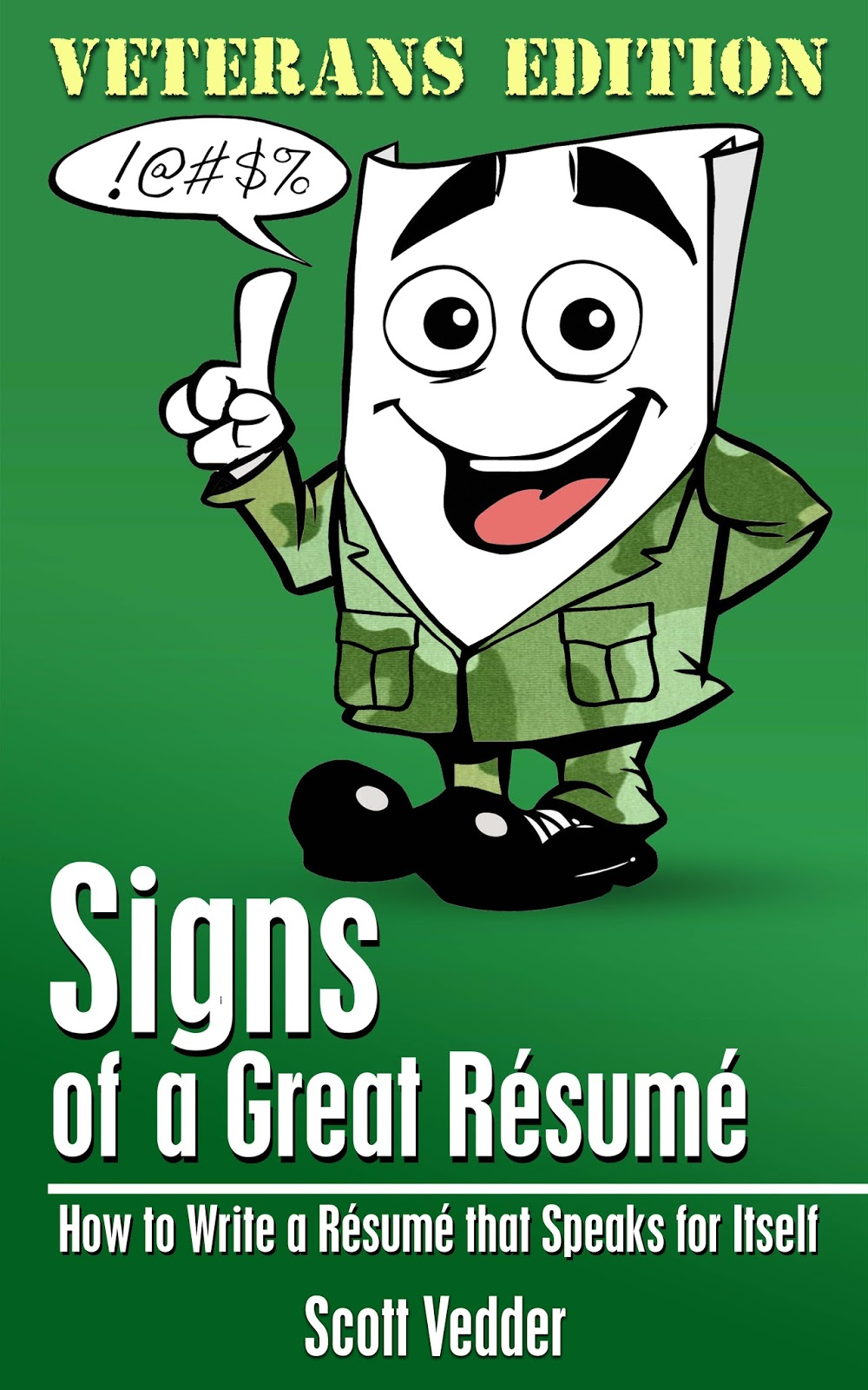 Signs Of A Great Resume Author Scott Vedder A Blog That S Full