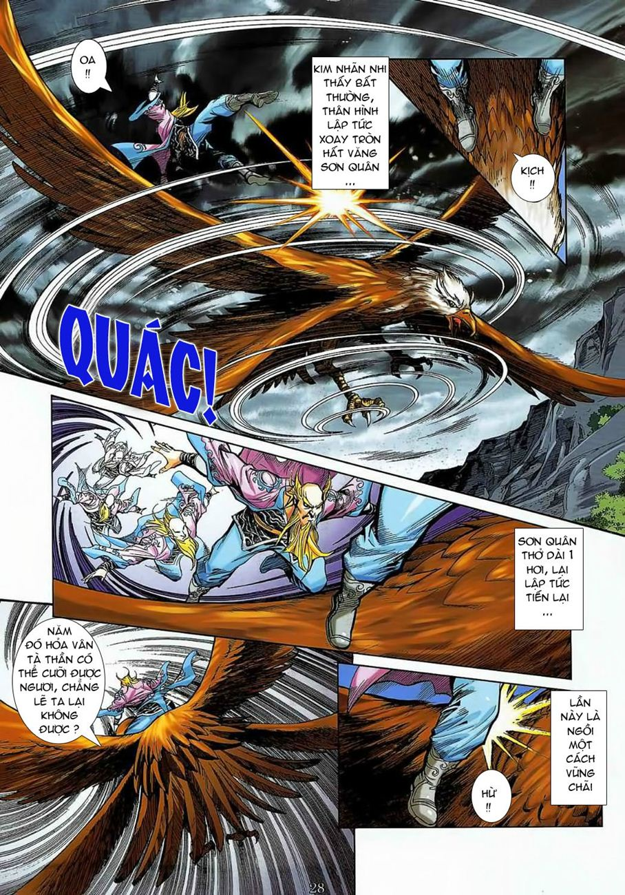 Thần Chưởng Long Cửu Châu chap 8 - Trang 28