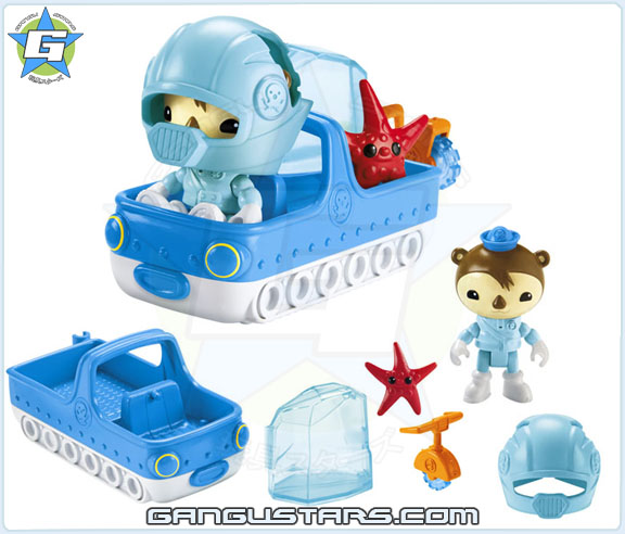 the Octonauts オクトノーツ Shellington's Arctic Adventure Pack Fisher-Price toys シェリントン