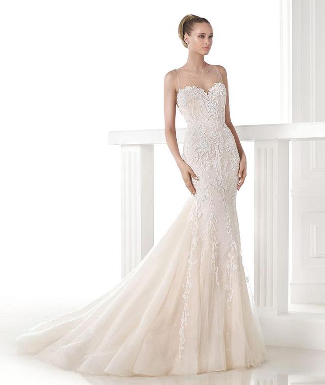 Que vestido de novia te sentará mejor según tu silueta