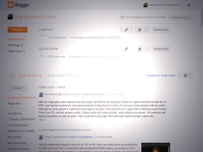 novo blogger, google blogs