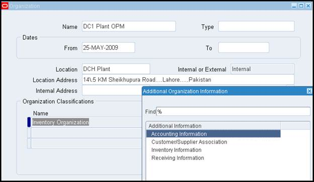 Oracle Applications Opm Oracle Process Manufacturing Setups