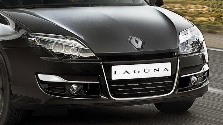 a car Renault Laguna 2014