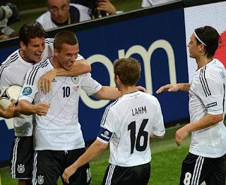 أهداف مباراة المانيا و الدنمارك 2-1 في بطولة اليورو 17-6-2012