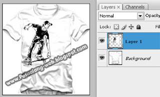 membuat kaos desain ala design distro