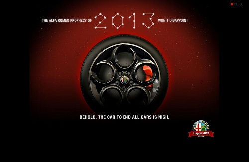 Alfa Romeo 4C teaser image